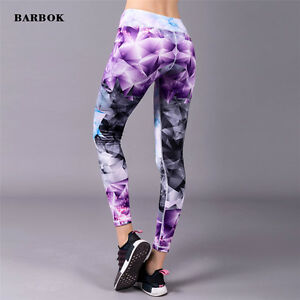 Womens-Compression-Sports-Skin-Tights-Trousers-Running-Gym-Yoga-Pencil-Pants