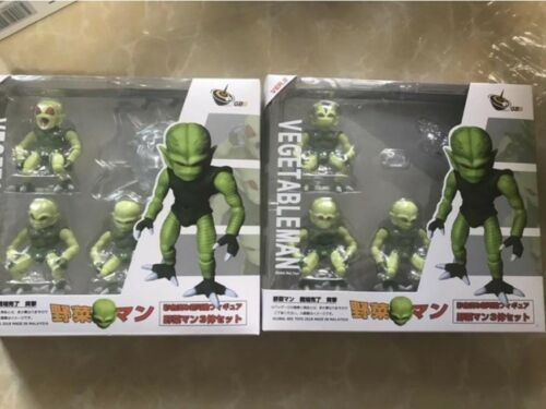 "New 2019 Dragon Ball Z Saibaiman Vegetable Man PVC 2.5/"" inch Action Figure Toy"