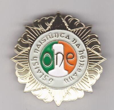 Irish Army ONE Organisation of Ex service men and women Cap Badge