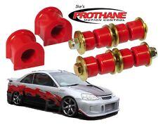 Prothane 8-1123&8-401 Front Sway Bar Bushing & End Link Kit 22mm Civic 96-00