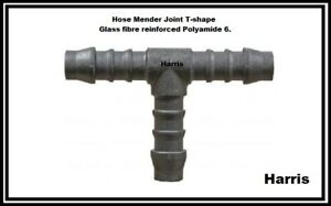 T-Shaped piece Joint Hose Pipe Tube Plastic 3 Connector Joiner