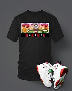 020ba6d44 Custom T-shirt To match Hare Air Retro Jordan Size S-7XL Black Pro ...