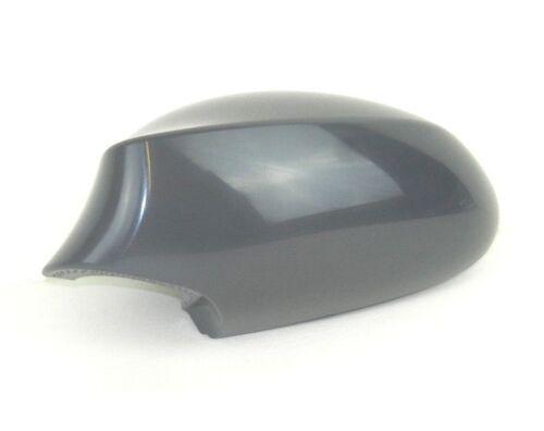 BMW 1 SERIES 2004-2010 N//S LEFT PASSENGER WING MIRROR COVER CAP UNPAINTED GREY