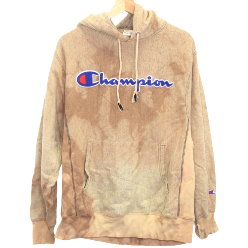 K54 Champion Center Logo Spell Out Brown Tie Dye S