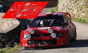 Calcas Mitsubishi EVO VIII Rally Montecarlo 2007 Pons 1:32 1:43 1:24 1:18 decals