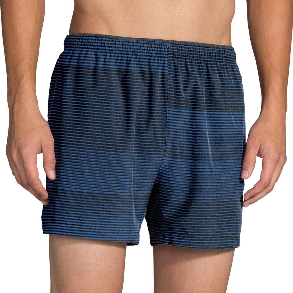 70504bcb8 Brooks Sherpa 5 Inch Mens Shorts bluee Running - nhxnpo7307-Shorts ...