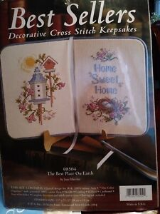 Cross Stitch Kit The Best Place On Earth Best Sellers Brand New 08504 Ebay
