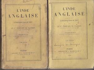 C1-Warren-L-INDE-ANGLAISE-AVANT-et-APRES-L-INSURRECTION-DE-1857-Complet-1858