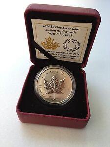 2014-Canada-5-Silver-Maple-Leaf-Reverse-Proof-World-Money-Fair-Berlin-Privy