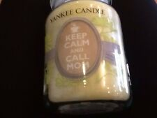 yankee candle keep calm and call mom limited edition