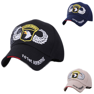 Fashion US Army 101st Airborne Division Eagle Wing Baseball Cap Hat ... 6739feb60367