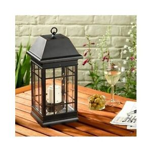 Details about  Solar Powered Lantern Outdoor Hanging Porch Patio Deck Night Security Lighting