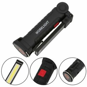 LED,COB Rechargeable Magnetic Torch Flexible Inspection Lamp Cordless Work Light