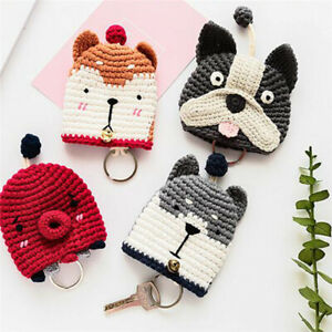 Case-Cartoon-Animal-Key-Ring-Case-Mini-Jewelry-Women-039-S-Fashion-Fashion-Hand-Made