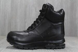 ca1d6af809 37 New Air Max Goadome 6 WP 806902-001 Mens Black Leather Boots ...