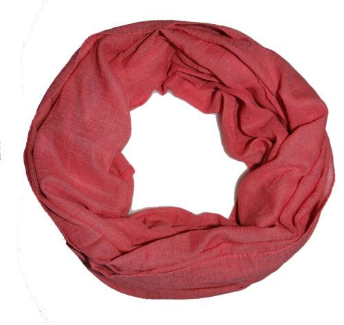 Paillettes Femmes Loopschal Korall écharpe tube Loop écharpe top offre