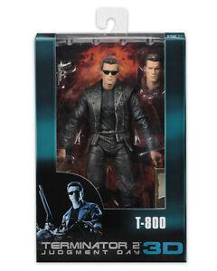 T-800 Rosebox Shotgun Terminator 2 Judgement Day 25th 3D Action Figur Neca
