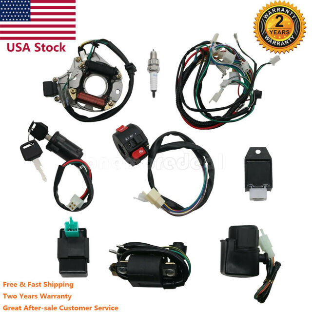 Atv Assembly Wiring Harness Cdi Kit For Atv Electric Quad