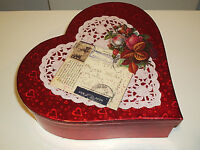 Valentine's Day Handcrafted Candy Box With Holiday Motifs Inside Lovely Gift