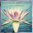 Opening to Meditation: A Gentle, Guided Approach by Diana Lang (Mixed media product, 2004)