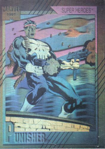 MARVEL UNIVERSE SERIES 2 1991 HOLOGRAM CARD 3 OF 5