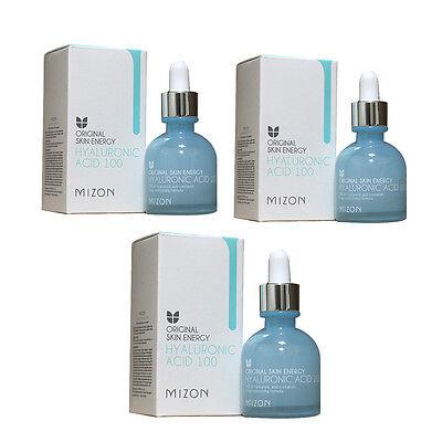 Mizon Original Skin Energy Hyaluronic Acid 100 Ampoule 30ml 3pcs Renewal