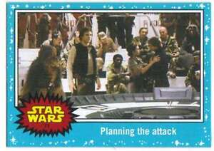 2015-Star-Wars-Journey-To-The-Force-Awakens-71-Planning-the-attack-Topps