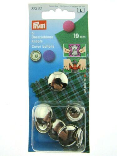 Prym Metal Funda Botones 11mm//15mm//19mm//23mm