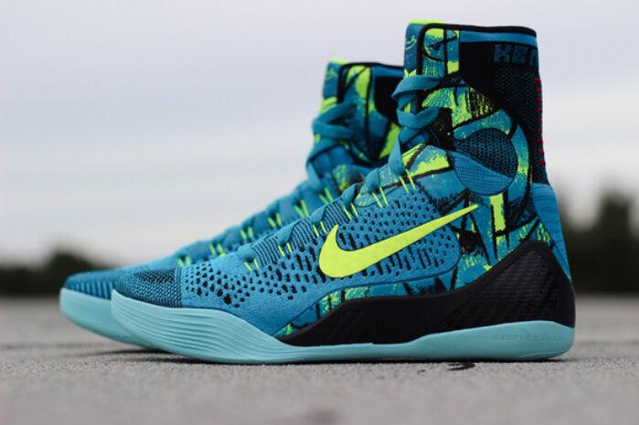 Nike Kobe 9 IX Elite Perspective bluee size 10.5. 630847-400.  beethoven bhm asg