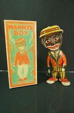 1920S MARX MAMMY'S BOY BLACK AMERICANA TIN WIND UP TOY W/ REPRO BOX #2