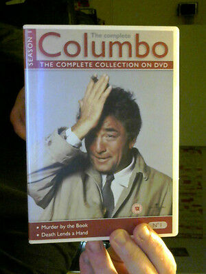 COLUMBO SEASON 1 ON DVD PETER FALK PERFECT XMAS STEAL  LAST CHANCE SALOON