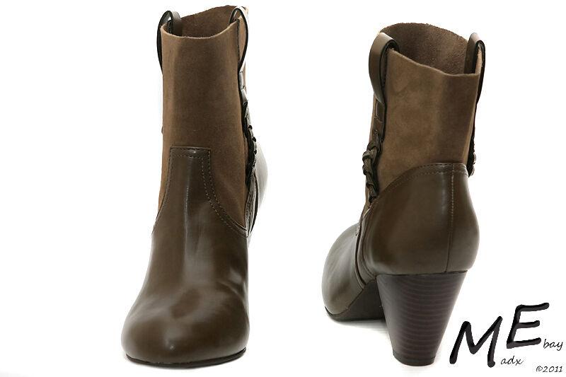 NEU Jessica Simpson OLIVIE Leder Fashion-Ankle Damens Stiefel Sz7.5 (MSRP 140)m