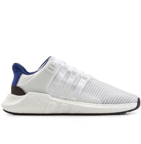 Adidas Originals EQT Support 93/17 UK 3.5 - 8 Weiß Blau & Schwarz Turnschuhe bz0592