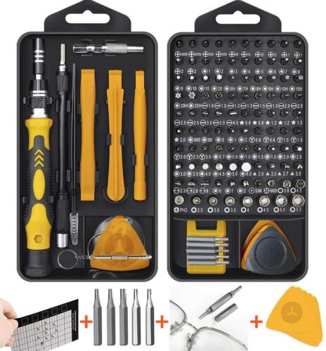 Hevanto Professional Yellow Details about  /New 130 in 1 Mini Screwdriver sets Magnetic
