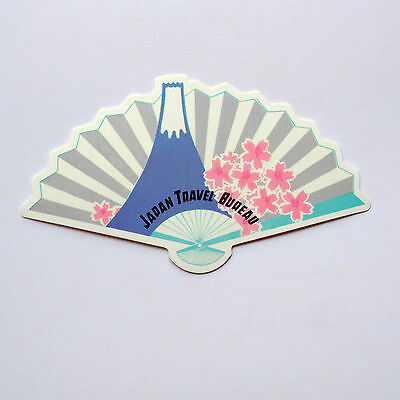 "#2761 Hakone Hotel Mount Fuji Japan Retro Travel Luggage Label 4x2/"" STICKER"
