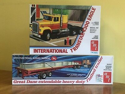 AMT 25 Sealed Extendable Trailer Transtar and Flatbed 4300 1 International AMT 7qxO5YC