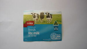 AUSTRALIAN-MILK-BOTTLE-LABEL-COLES-LITE-MILK-3-LITRES