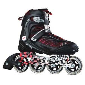 Blade-X-Softec-Vision-Inline-Skates-Rollerblades-US-Men-039-s-9