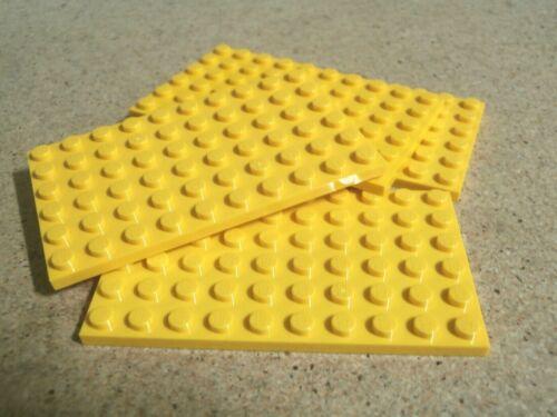LEGO Friends 4 x GIALLO PIASTRA 6 x 10 NUOVO