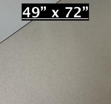 49 X 72 Pewter Aluminum Sheet Flat 030 Thick Cargo Trailer Repair Etc