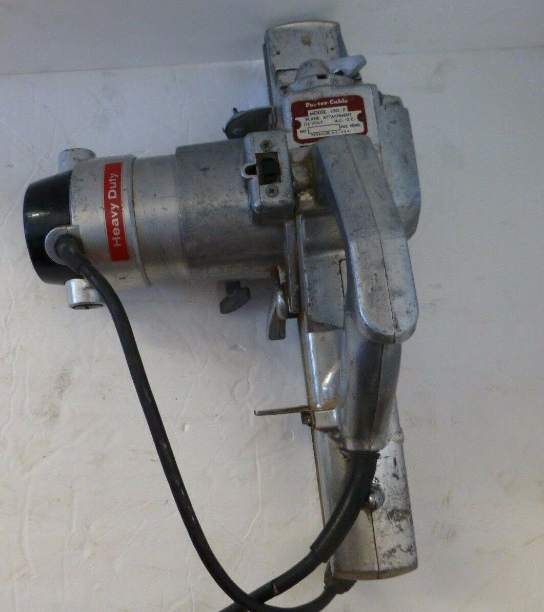 Vintage Porter Cable Drive 150P Planer Attachment   Rockwell 150M Motor