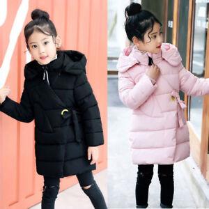 e87c67ef6 Cool Kids Girls Padded Coat Winter Cotton Puffer Down Jacket Warm ...