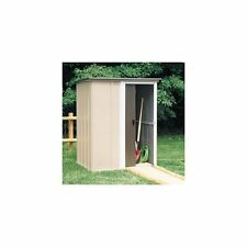 Arrow Brentwood 4.96 ft. W x 4 ft. D Metal Vertical Tool Shed