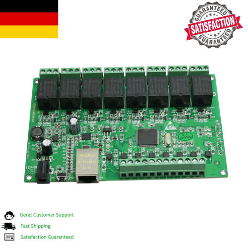 8-Ch Relay Network IP Relay Web Relay Dual Control Ethernet RJ45 interface DE////