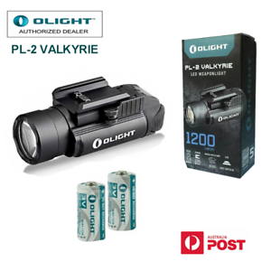 Olight-PL-2-valkyrie-1200LM-CREE-LED-weapon-Pistol-light-with-CR123A-batteries