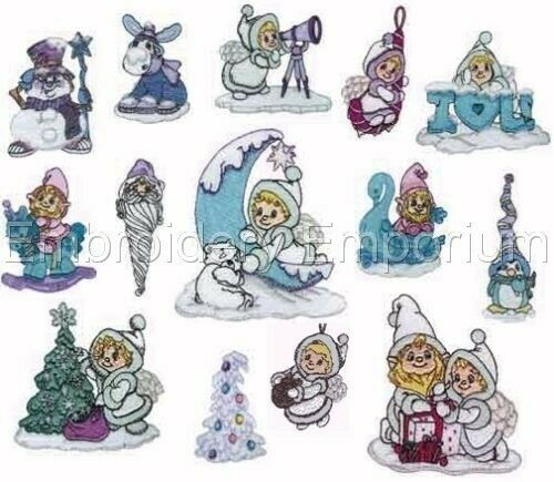 NORTHERN LIGHTS COLLECTION MACHINE EMBROIDERY DESIGNS ON CD OR USB