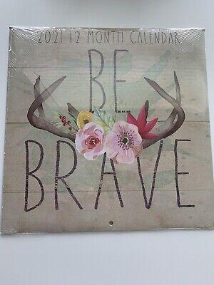 Dollar Tree 2021 Be Brave Calendar- NIP | eBay
