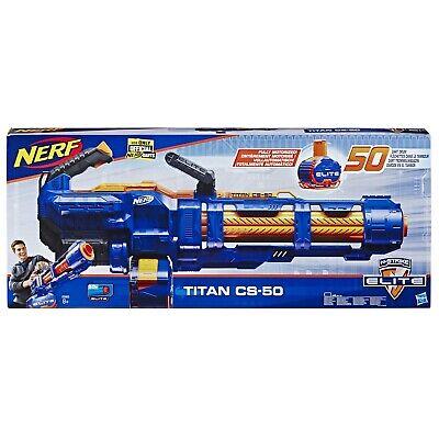 Nerf Elite E2865EU4 NER Elite Titan CS 50 Spielzeug Blaster