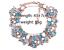 Women Bohemian Necklace Pendant Crystal Choker Chunky Statement Wedding Jewelry