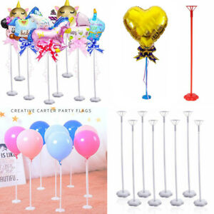 5Pcs-Balloon-Column-Stick-Stand-with-Base-Wedding-Birthday-Party-Baby-Shower